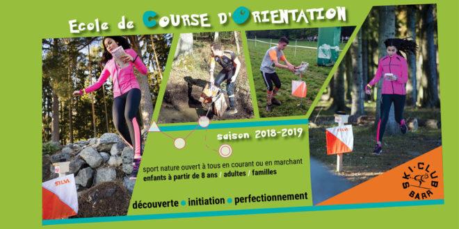 Ecole de Course d'Orientation – saison 2018/2019