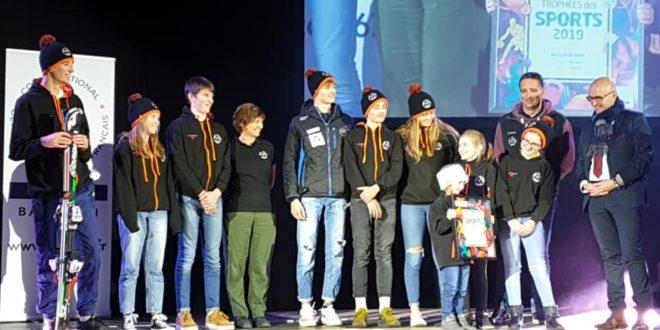 Le club récompensé au Trophée des Sports