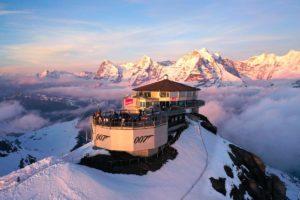 Sortie Ski en Suisse à Mürren