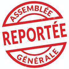 Assemblée Générale ordinaire 2020 - reportée -