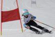 Margaux au contact des meilleures skieuses françaises U14